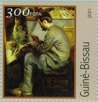 Frédéric Bazille devant son chevalet 1867 Paris, Musée d'Orsay