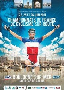 Championnat de france de cyclisme à boulogne sur mer 2011