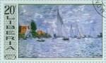Les Barques, régates à Argenteuil 1874 Claude Monet