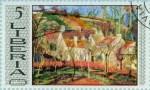 Les Toits rouges 1877 Camille Pissarro