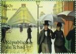 Rue de Paris, temps de pluie 1876-1877 Gustave Caillebotte 3ème exposition impressionniste
