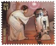Princesse Leia et R2D2